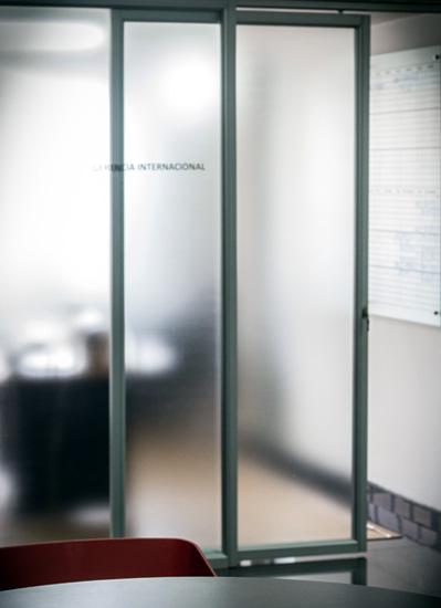 Baños Quimicos Elegantes:Puerta de Vidrio 1